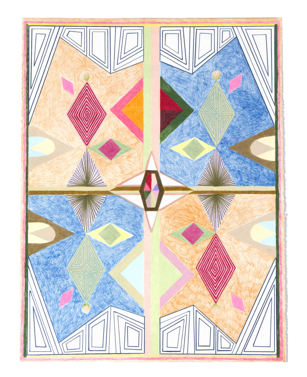 Complementary Diamond Pattern, 2017