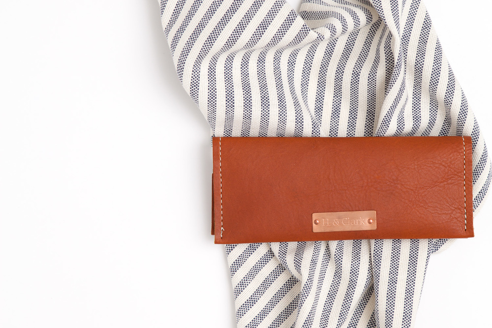 leather wallet stripes