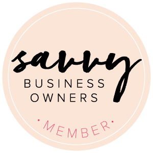 Savvy Business Owners Member Badge