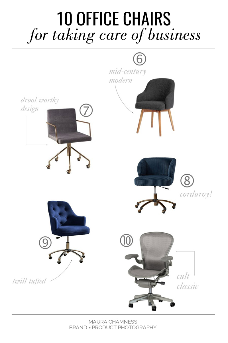 classic office chairs. West Elm | Saddle Office Chair Classic Chairs I