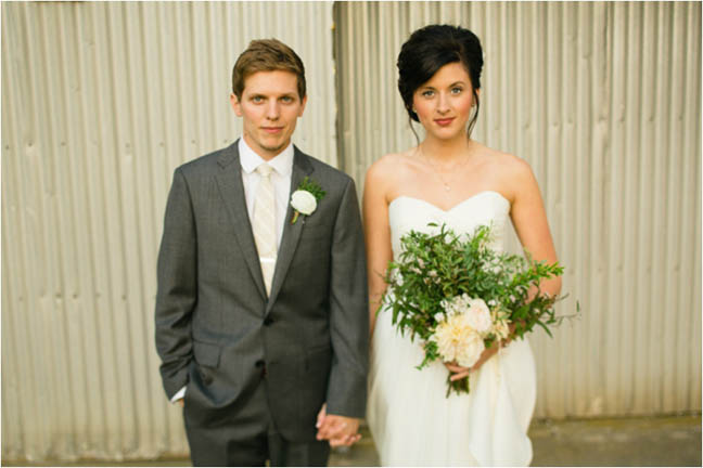 Billy Grubbs  -Local Film Photographer {and his lovely wife who was also a #CCBride}!