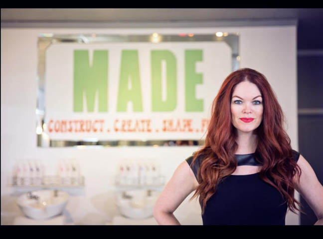 Carrie Ann Smith owner of  MADE Blowdry Boutique - Local #girlboss!