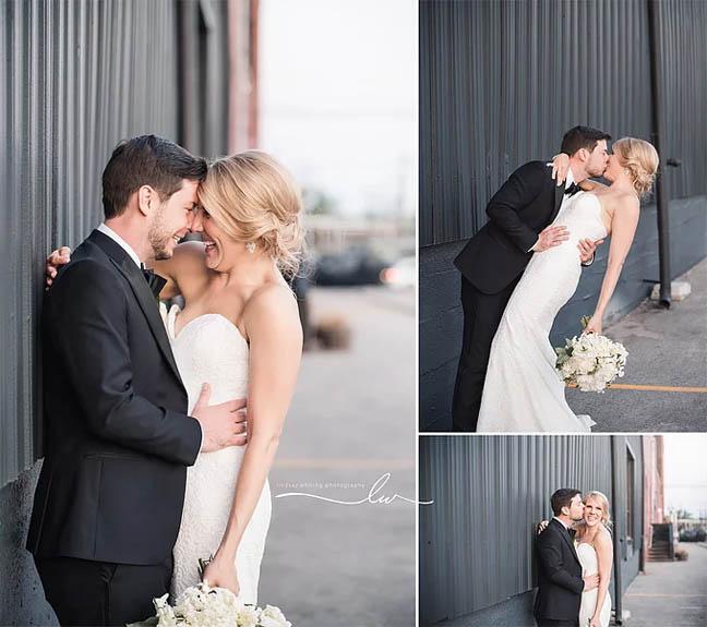 Chelsea Garrett Kiss Kentucky Wedding