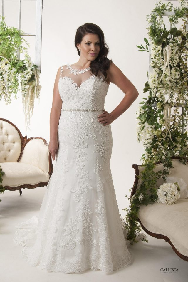 Couture Closet Bridal Boutique Dallas Callista Plus Size Wedding Gown