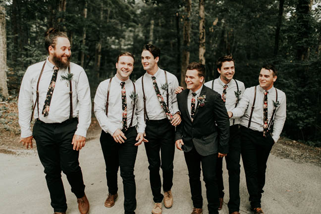 Sawyer+Beca C+Couture Closet+Groomsmen
