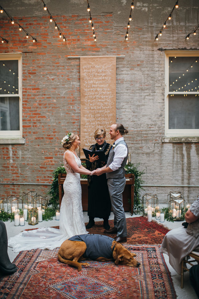 Photography by  Love Hunters  | Flowers by  Rose + Honey  | Coordination by  Elope Louisville