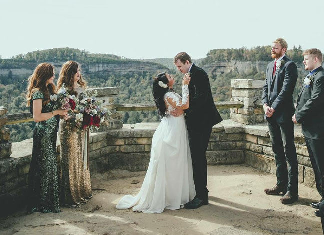 CC Bride Brittany | Dress Designer  Lillian West  | Photography  My Tiny Wedding