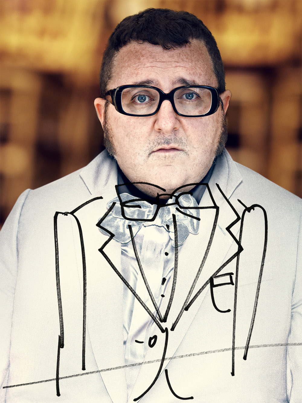 Alber Elbaz of Lanvin for Modern Weekly