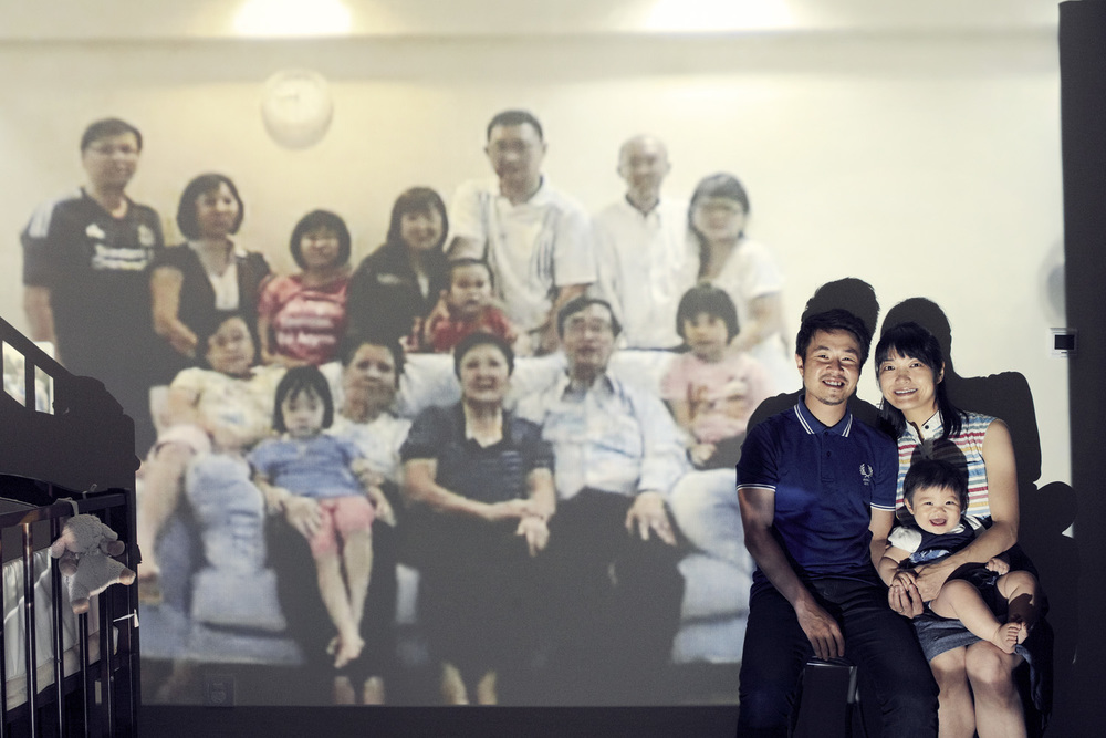 Leong family (Shanghai, Sembawang)