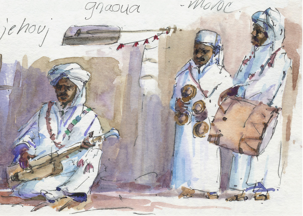 Gnaoua musicians