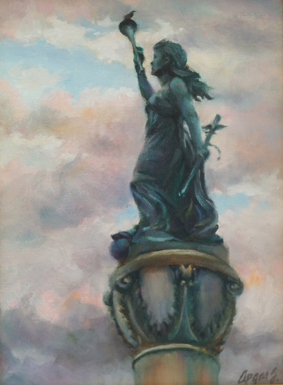Goddess Columbia