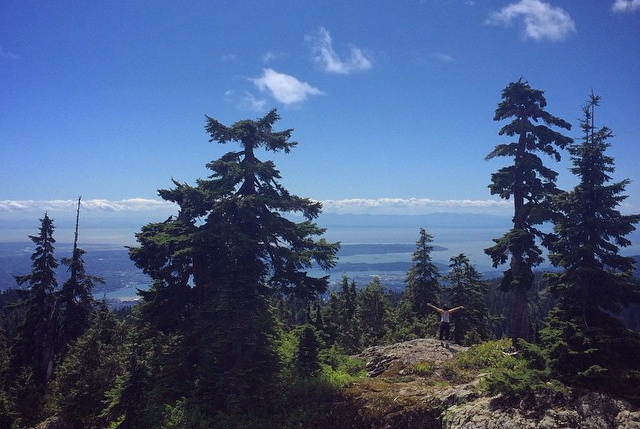 North Vancouver, BC--Getting lost amongst the trees. Photo c/o Nik Belonio.