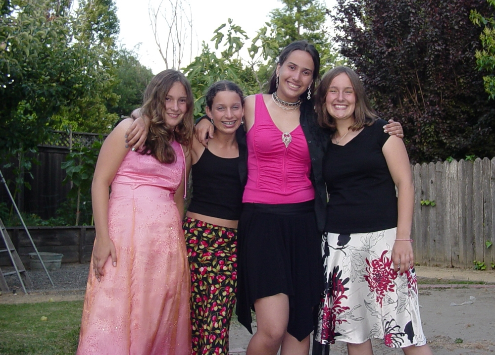 My friends and I pre middle school dance, Grade 7 or 8