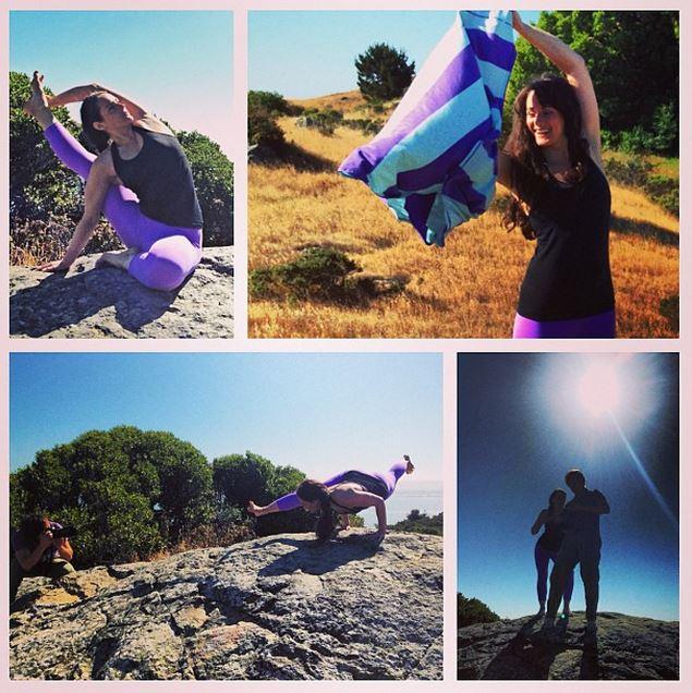 Alison Smith, Yoga Instructor.