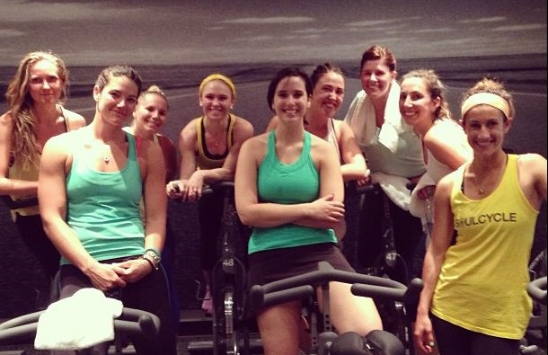 Spin at Soulcycle in Greenbrae, CA