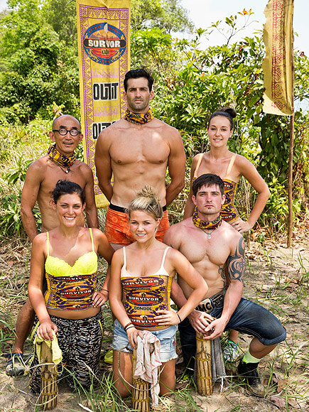 Clockwise, from upper left: Tai, Nick, Anna, Caleb, Julia, Michele.