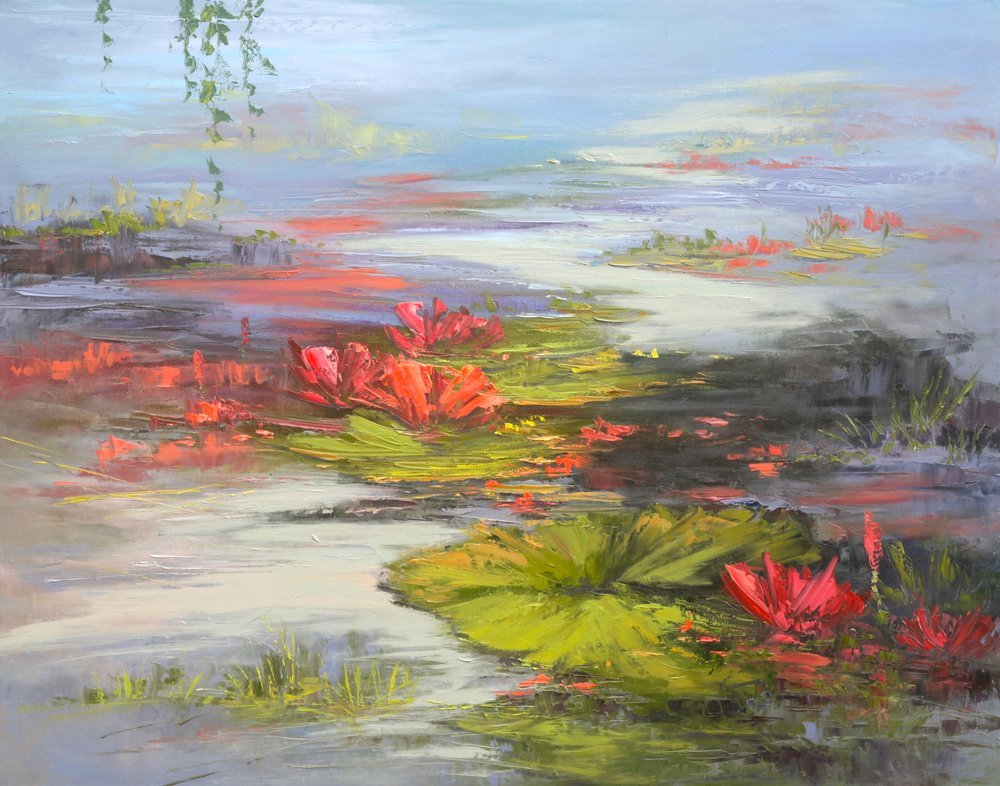 Of Water Lilies