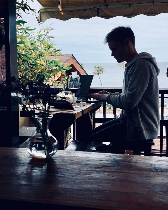 Wine & Work. Throwing it back to my brothers new homeland. 📷: @mchabes