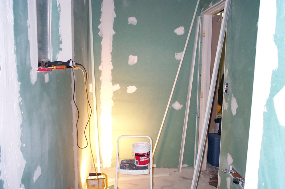 Drywall. I hate doing drywall.