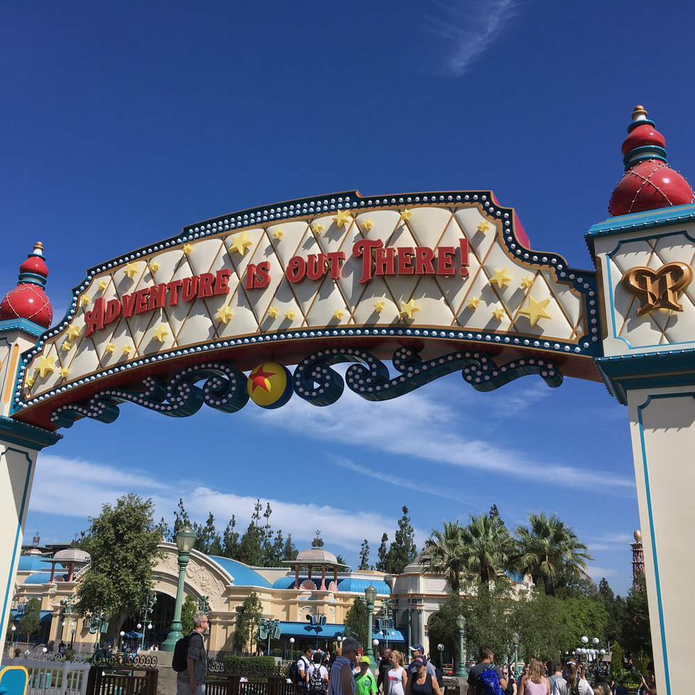 Pixar Pier - the remodel of Paradise Pier. Felt better themed, was a lot of fun.