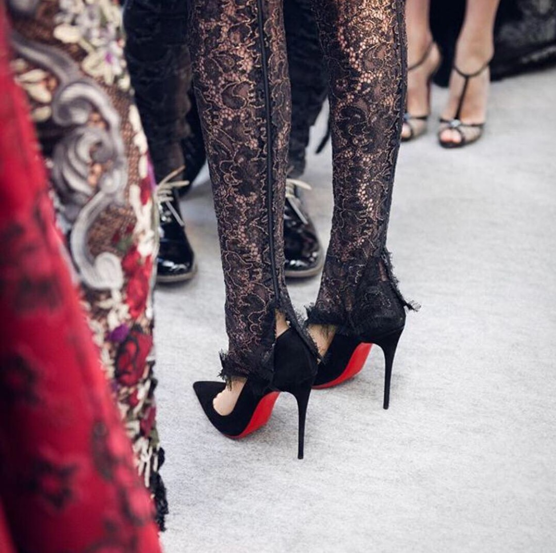 Legal Battle Over It's Red Sole Shoes