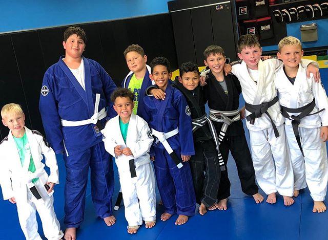 Kids classes In Oak Creek - M,W,F and Saturday. #kidsteam #mkekids #milwaukeejiujitsu #jiujitsukidsrule
