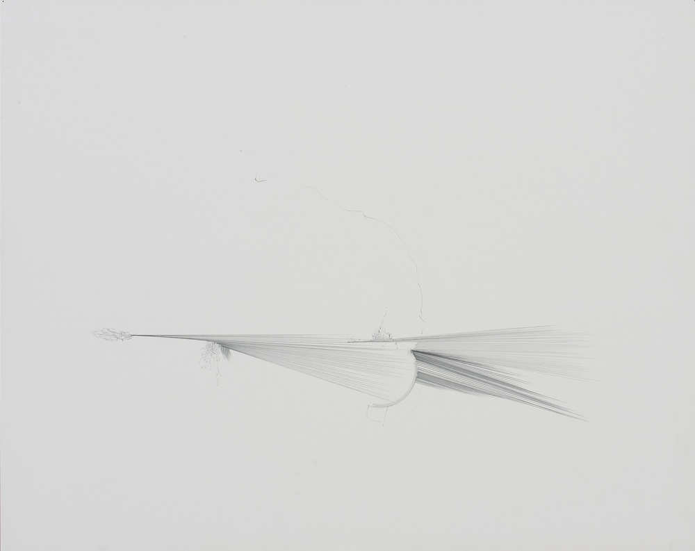 untitled, graphite on paper, 2005, 22 x 30 inches