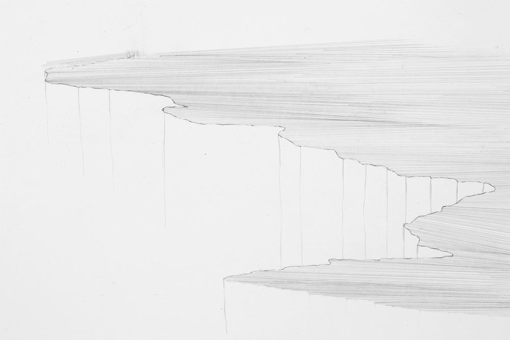 Cliff (detail)