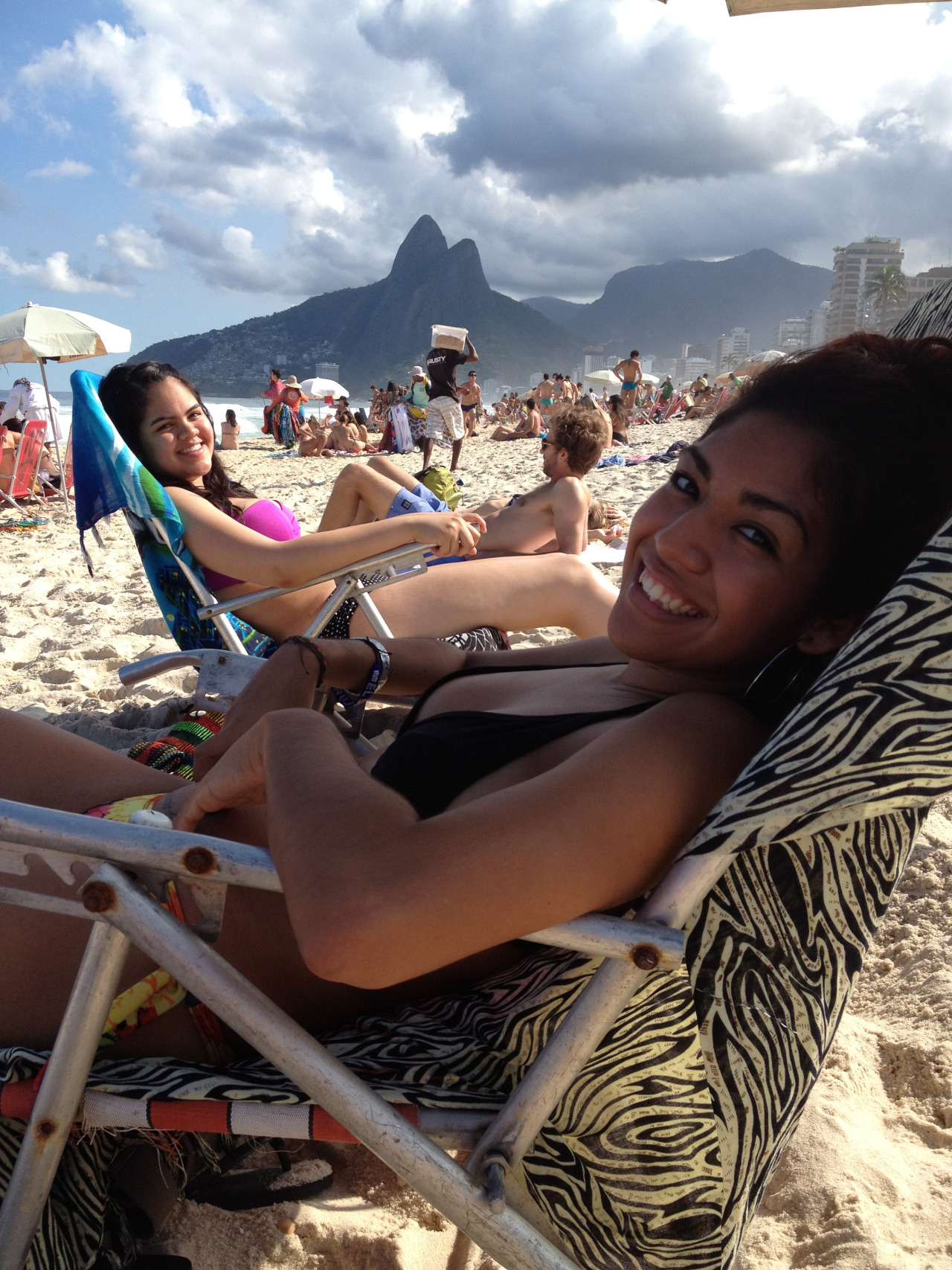 chillin in ipanema con mi prima :D