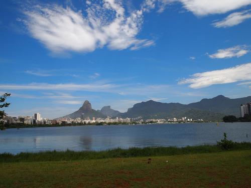 L agoa, Rio de Janeiro   Someone took me on a date here :)