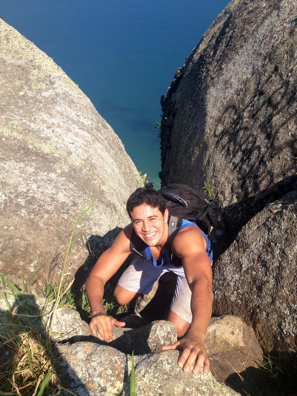 Renan aka Indiana Jones Brasileiro!Haha!Thanks for helping me get to the top of the world! :)