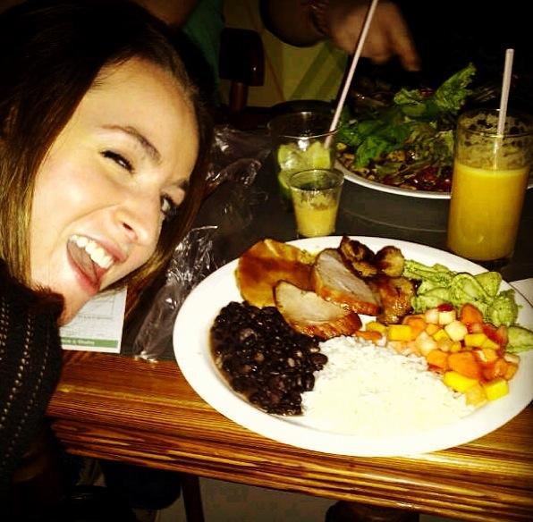 Dinner and Alexandra!