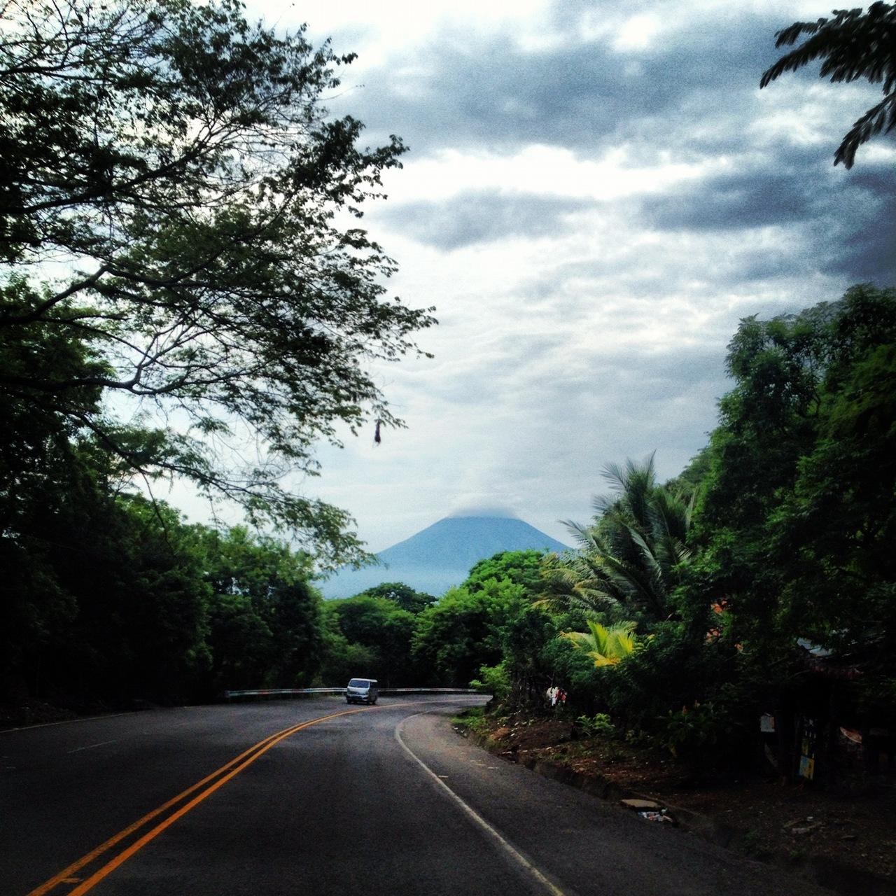 El volcan Chaparrastique, San Miguel, El Salvador