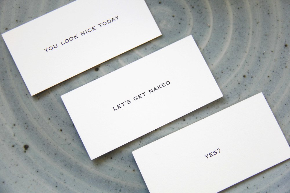 Love Stories - Calling Cards