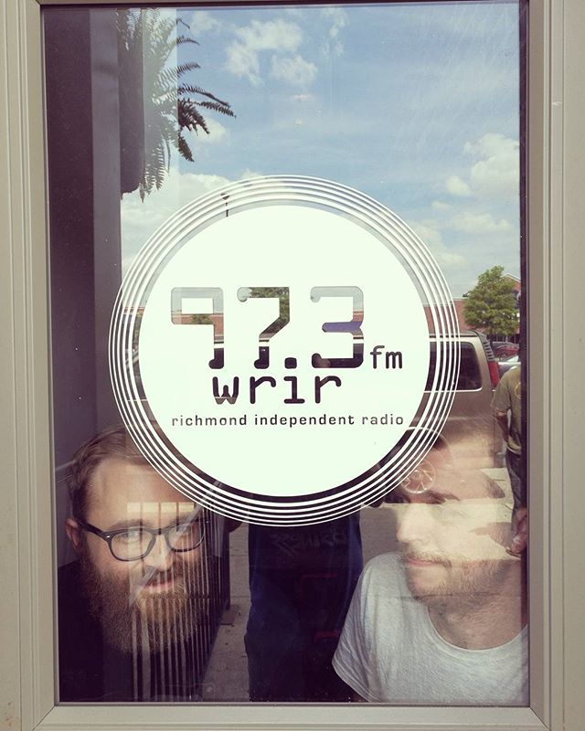 Listen to us on WRIR at 3:30pm EST for part of their Spring Fund Drive.  #thosemanicseas #wrir #radio #supportlocalradio #live #rva #rvamusic