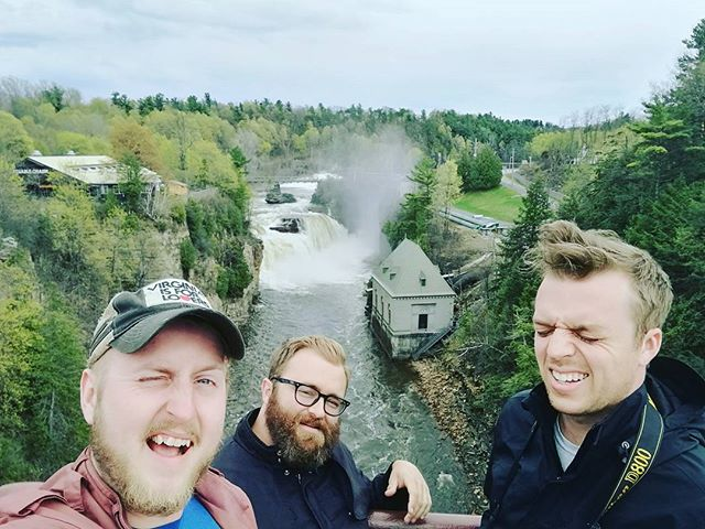 Tour is great, Montréal was fun as always, Buffalo tonight for the first time at Dreamland Arts at 8pm!  #thosemanicseas #buffalo #buffalomusic #dreamland #tour #ausablechasm #canada #montreal