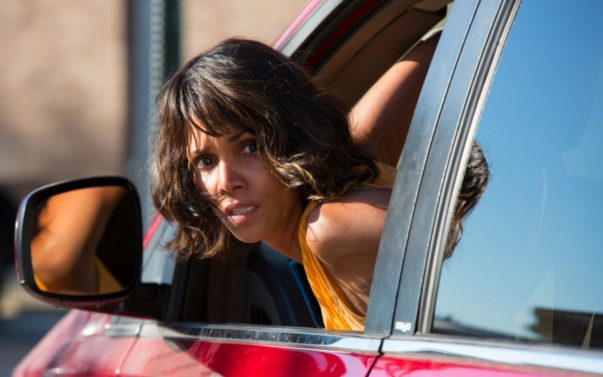 Emotive still image from move Kidnap of Karla Dyson, played by Halle Berry.