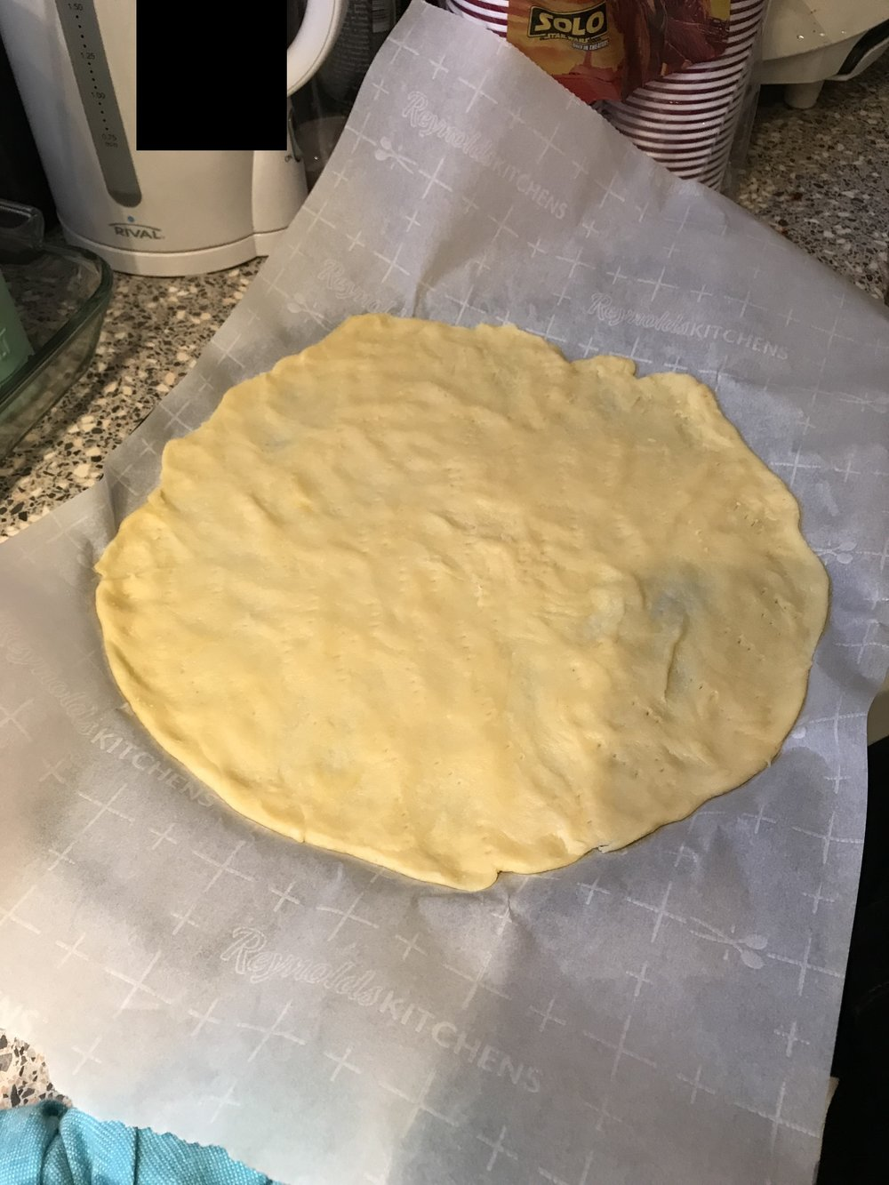 Dough Prior to the Oven