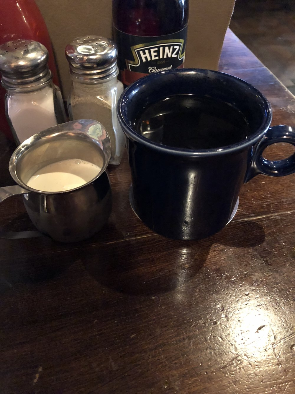 Coffee w/ Heavy Cream