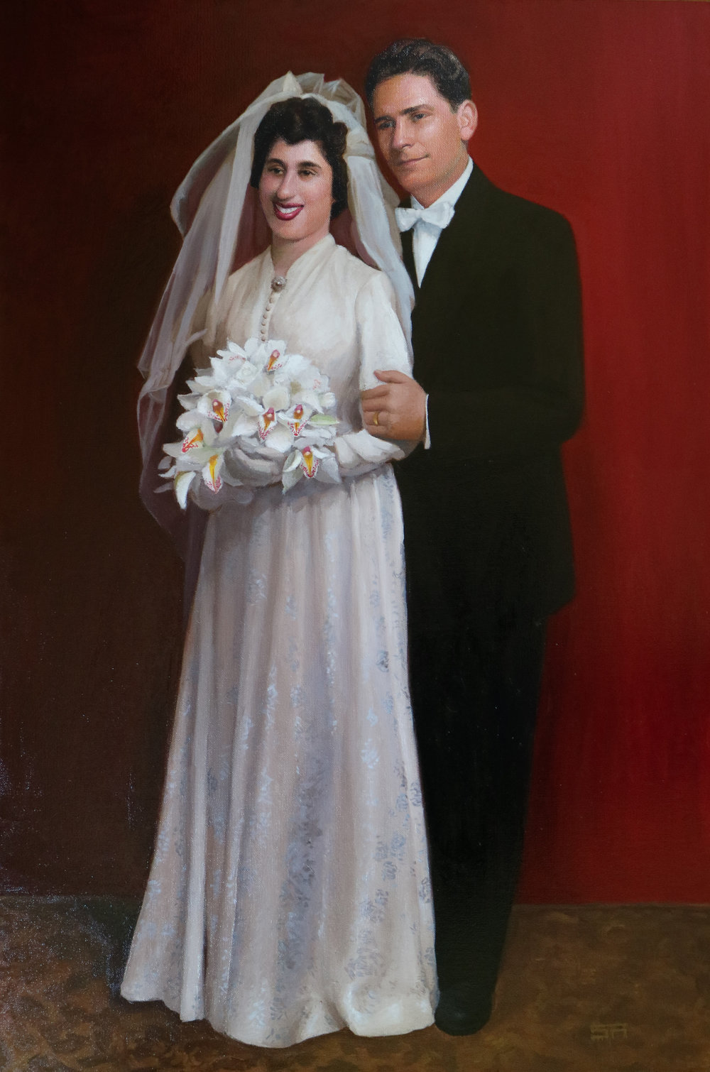 Evangel Wedding Portrait