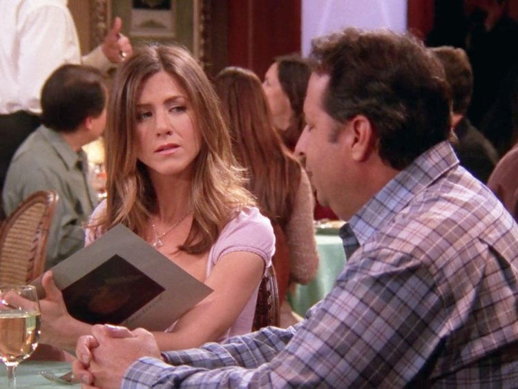 This date felt a lot like Rachel's bad blind date in FRIENDS.
