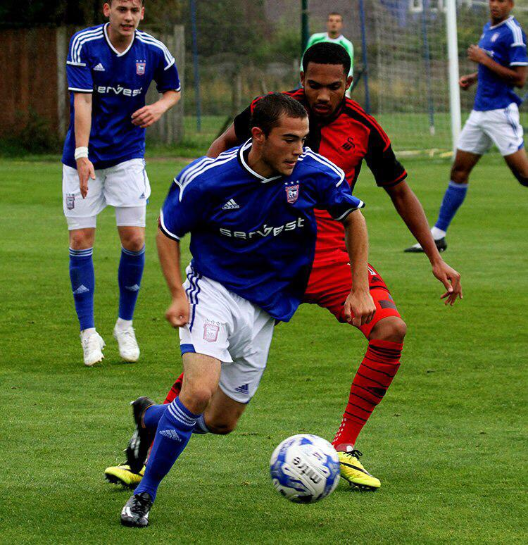 Cory Galvin Ipswich Town Football Club