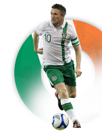 Robbie Keane Rep of Ireland