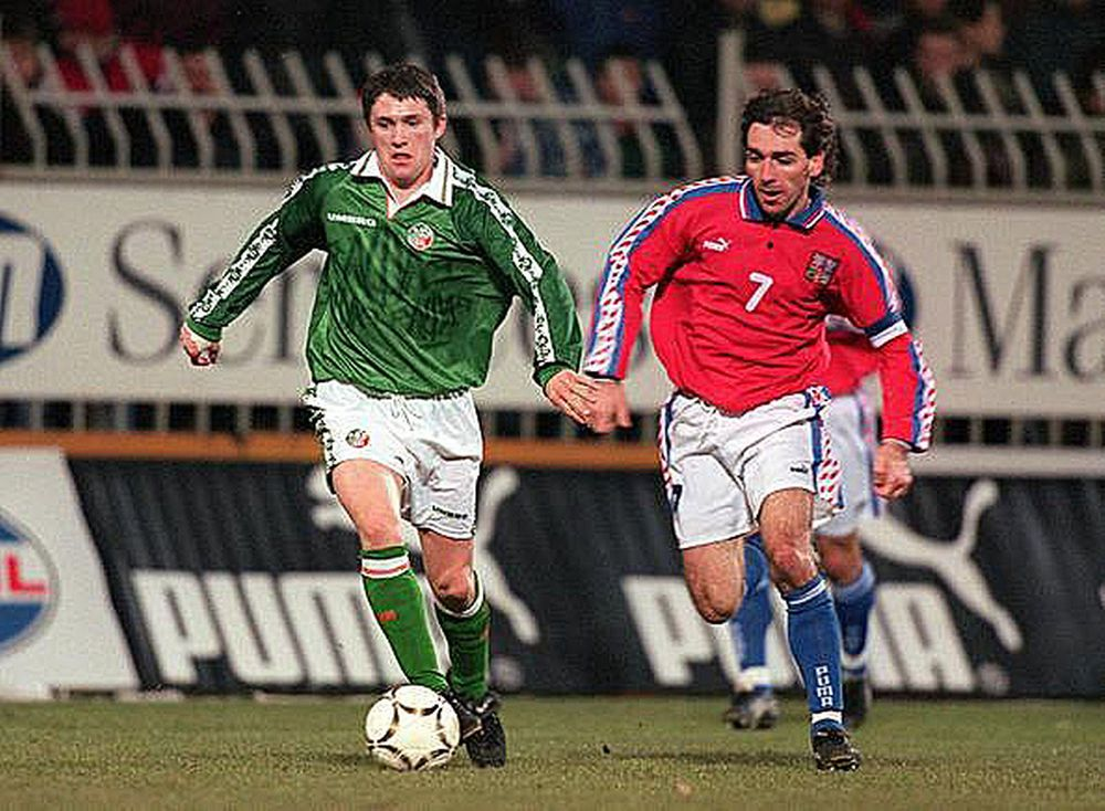 Robbie Keane debut vs Czech Republic