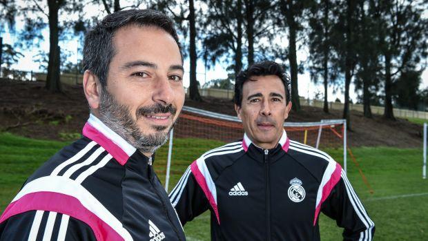Real Madrid Academy Coach Tristan Celador