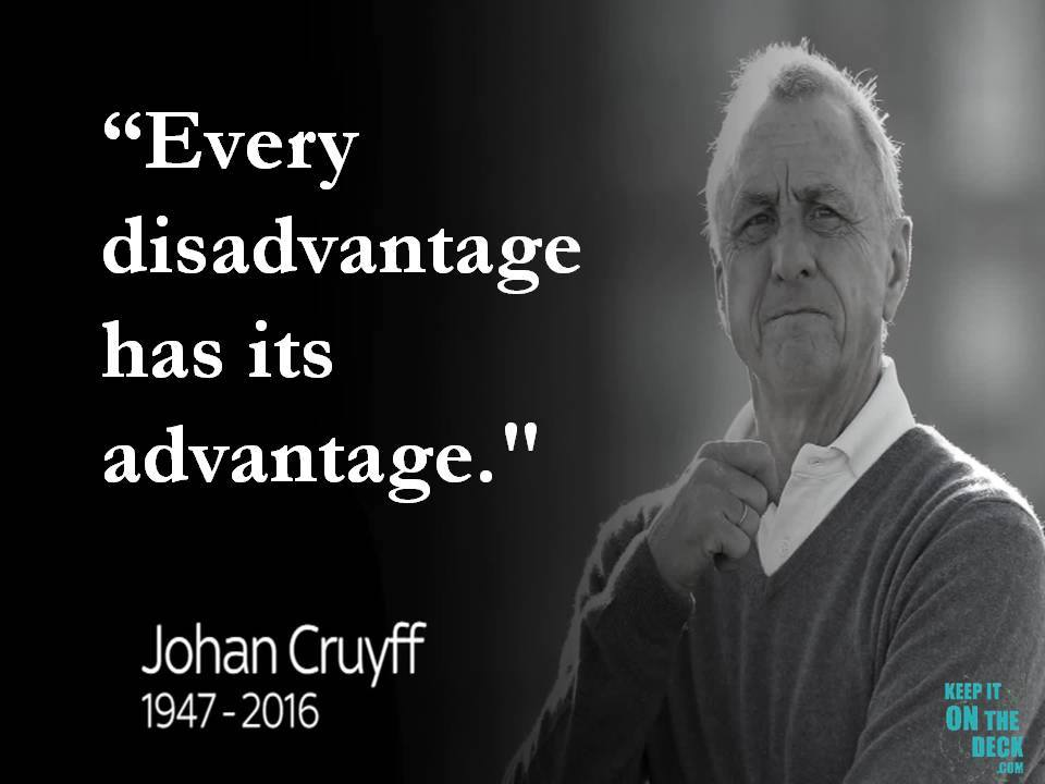 Greatest Quotes | Johan Cruyff Greatest Quotes Keepitonthedeck