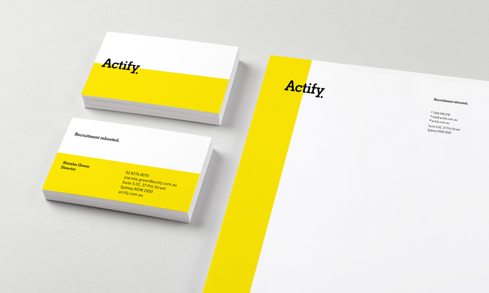 Actify Stationery