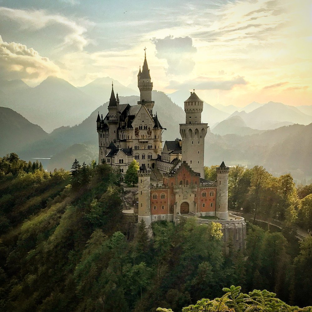 Visual Media   I took a year to travel recently. While doing so I honed my photography and video skills. For a glimpse into some of my work, visit my  Instagram page . Versed in Final Cut Pro and various image editors.  I shot this image of the Neuschwanstein Castle this summer.