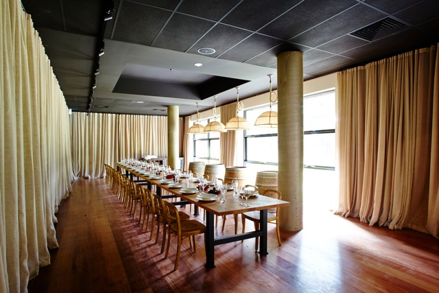 Private Dining Room at The Epicurean Red Hill. Perfect for your private function or small wedding.