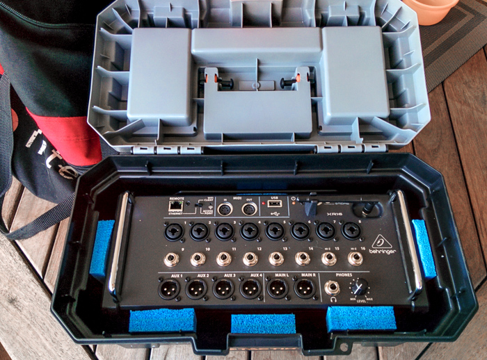 Chris Gable Behringer X16